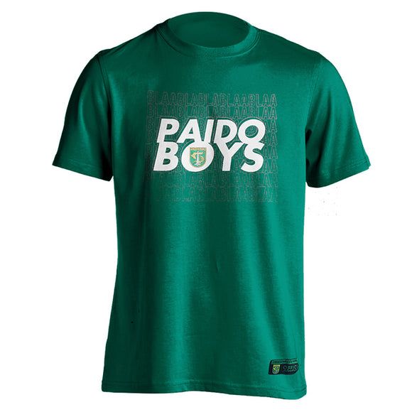 T-shirt Paido Boys - Green