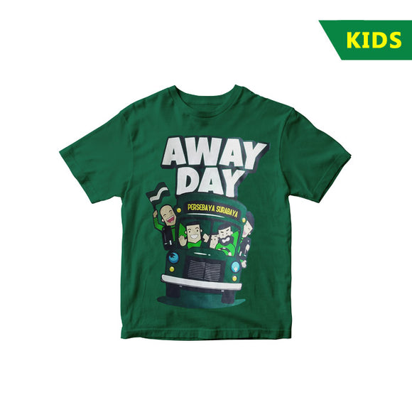 T-shirt Persebaya Travel Away Day - Kids