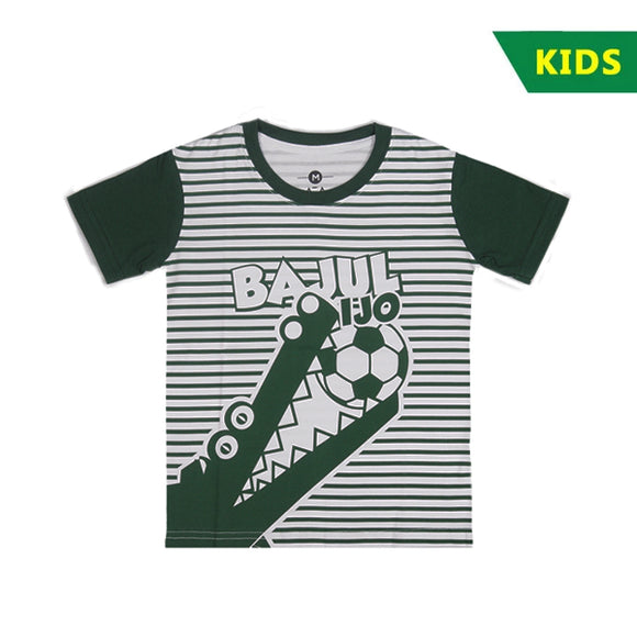 T-shirt KIDS Croco Stripes