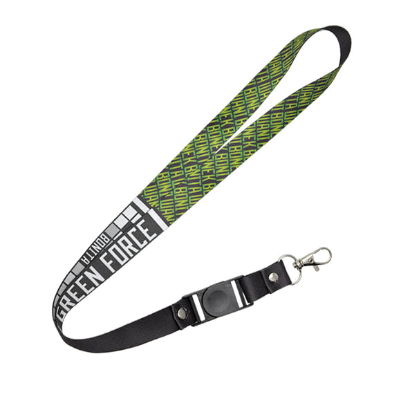 Lanyard Green Force - Black