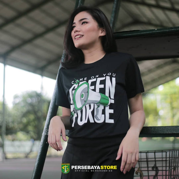T-shirt Come on You Green Force - Black