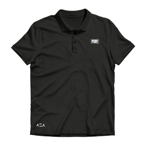 Polo Shirt Basic Simple - Black