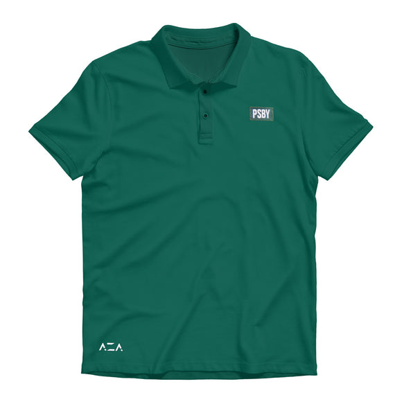Polo Shirt Basic Simple - Green