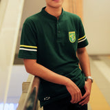 Polo Lacos Sport Two Stripe - Green