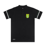 Polo Lacos Sport Two Stripe - Black