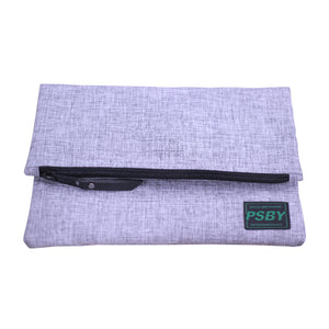Pouch Lipat PSBY Basic Marble - Grey