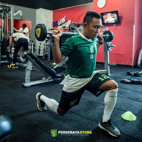 Kaos Jersey Sport fit Pre Season Training - Hijau