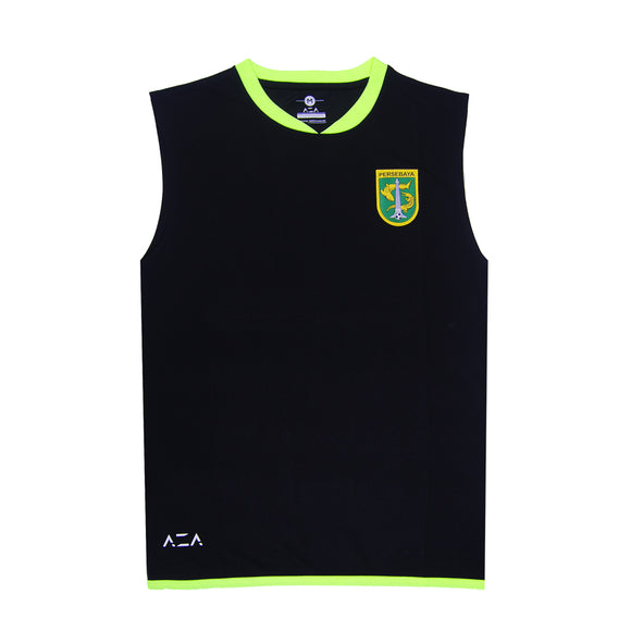 Jersey Performance Sleeveless - Black