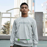 Sweater Simple Persebaya - Grey