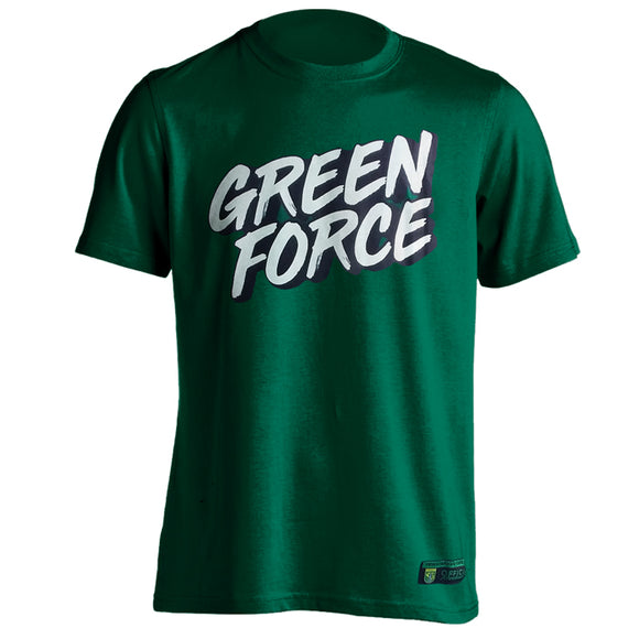 T-shirt Green Force Simple Glow