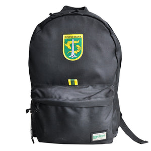 Tas Ransel Persebaya Simple Black Backpack