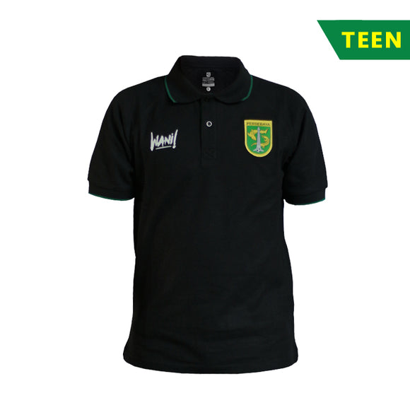 Polo Shirt 2k18 Black - Teen