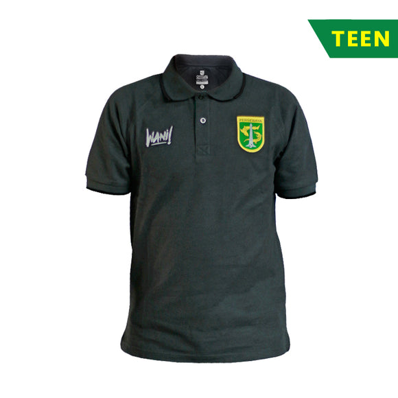 Polo Shirt 2k18 Grey - Teen