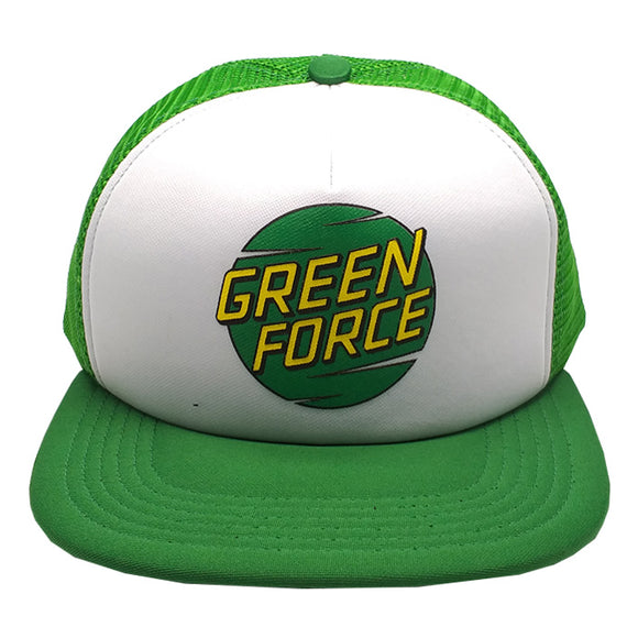 Topi Trucker Flat Green Force Citrus