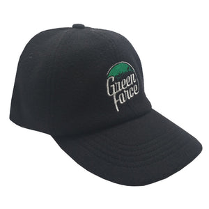 Topi Curve Green Force Woll