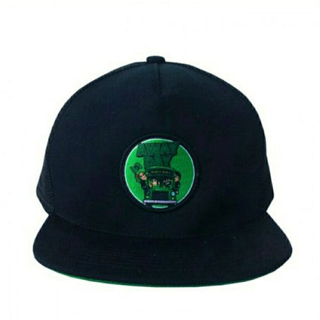 Topi Snapback Jaring Away Day Bus