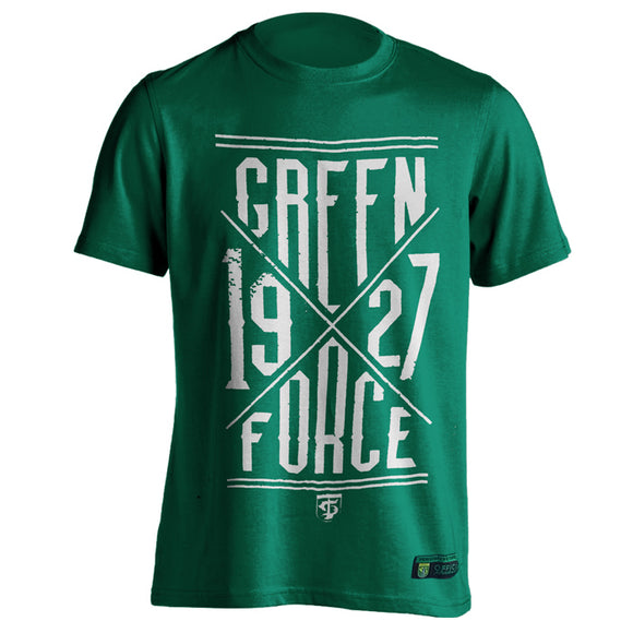 T-shirt 1927 x Green Force - Green