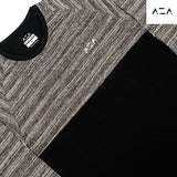 TS AZA Basic Kombinasi Long Sleeve