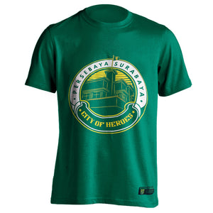 T-shirt Memories City Of Heroes - Green