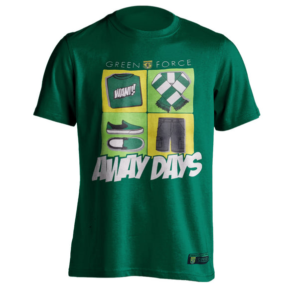 T-shirt Green Force Away Days