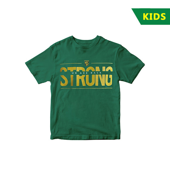 T-shirt We Are Back Strong Basic Color - Kids