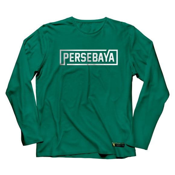 T-shirt Long Sleeve Simple Graphic - Green