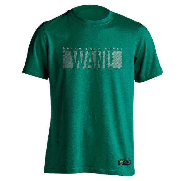 T-shirt Simple Block WANI - Hijau