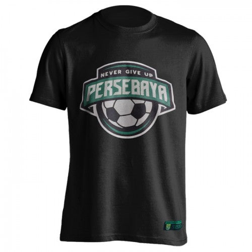 T-shirt Bola Persebaya Never Give Up