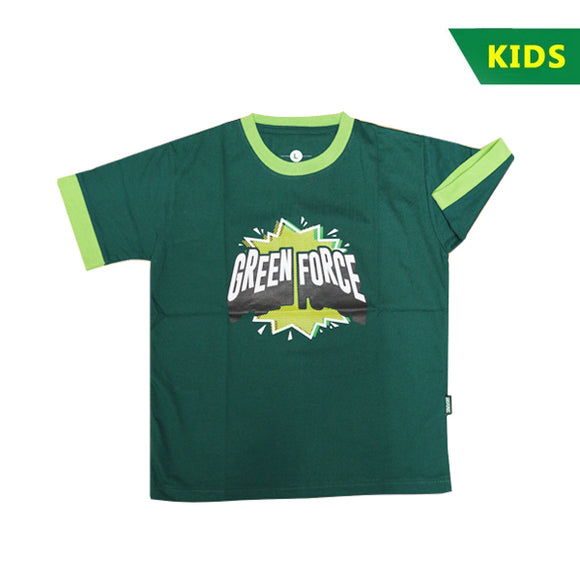 T-shirt Kids Green Force Sparkling