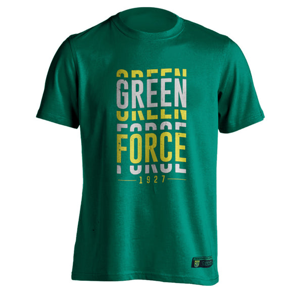 T-shirt Green Force Visual - Green