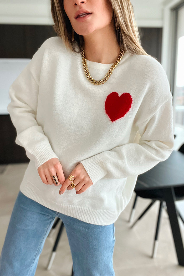 Le pull Line camel