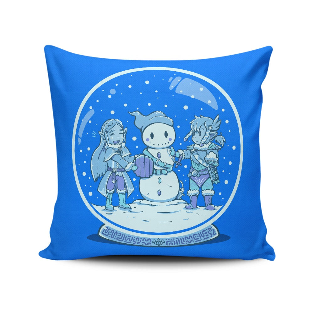 Breath of the Snow - Throw Pillow