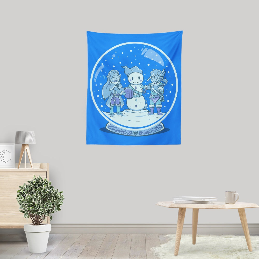 Breath of the Snow - Wall Tapestry