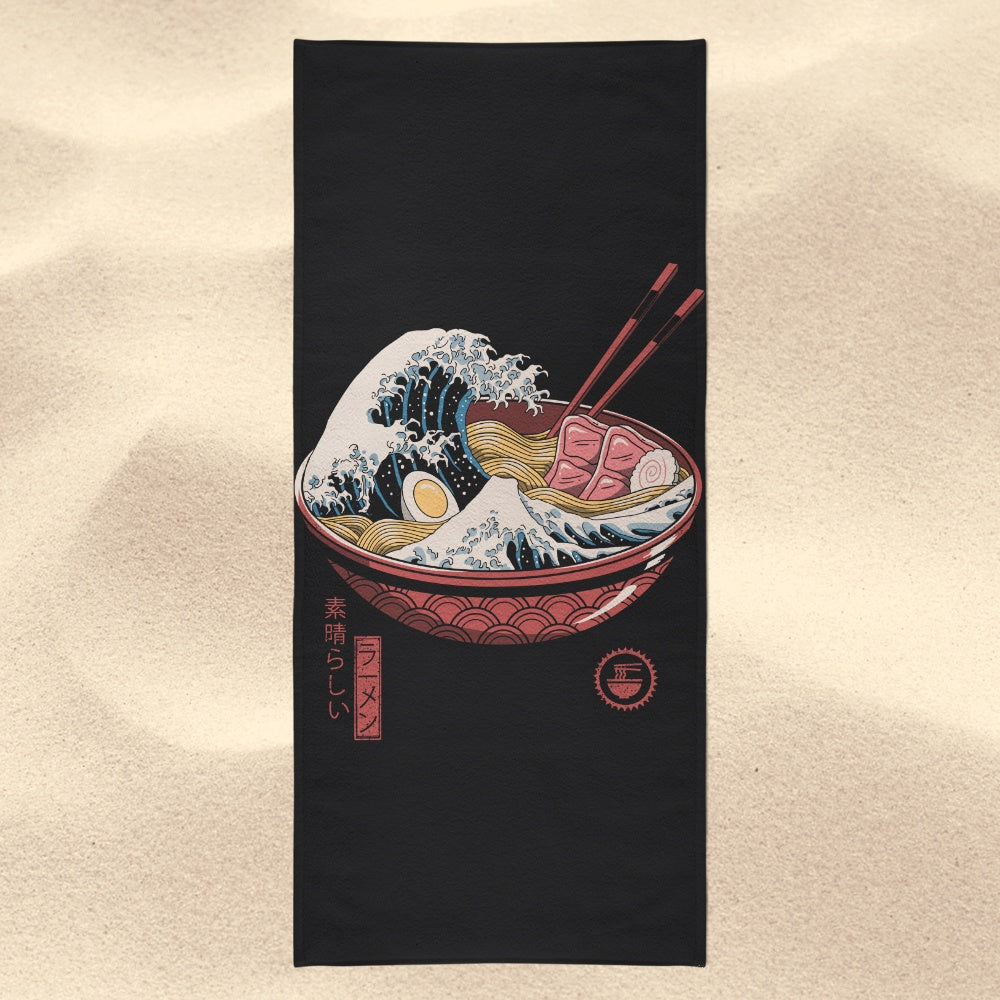 Great Ramen Wave - Towel