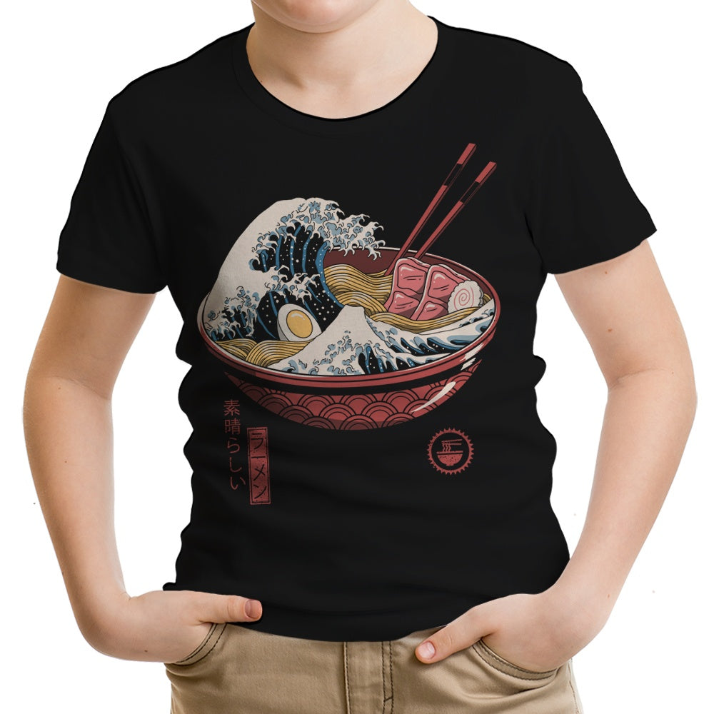 Great Ramen Wave - Youth Apparel