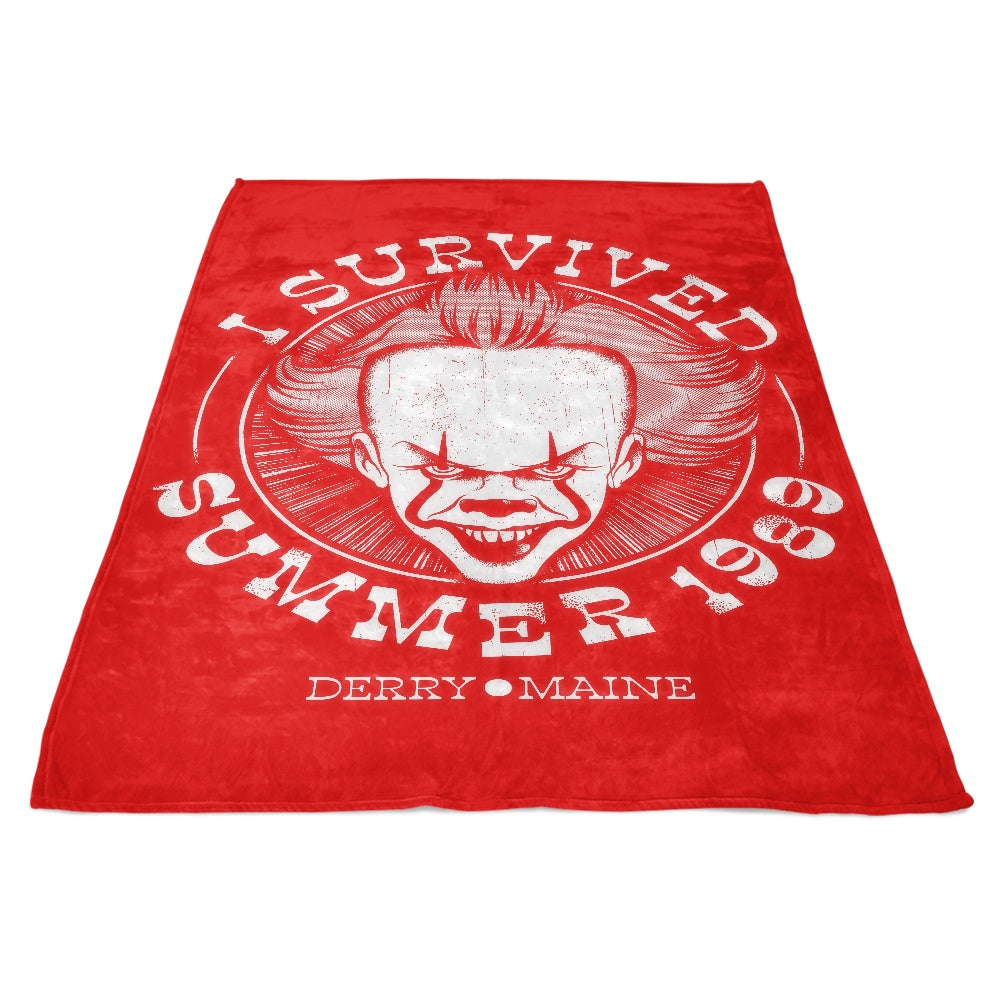 I Survived Derry - Fleece Blanket
