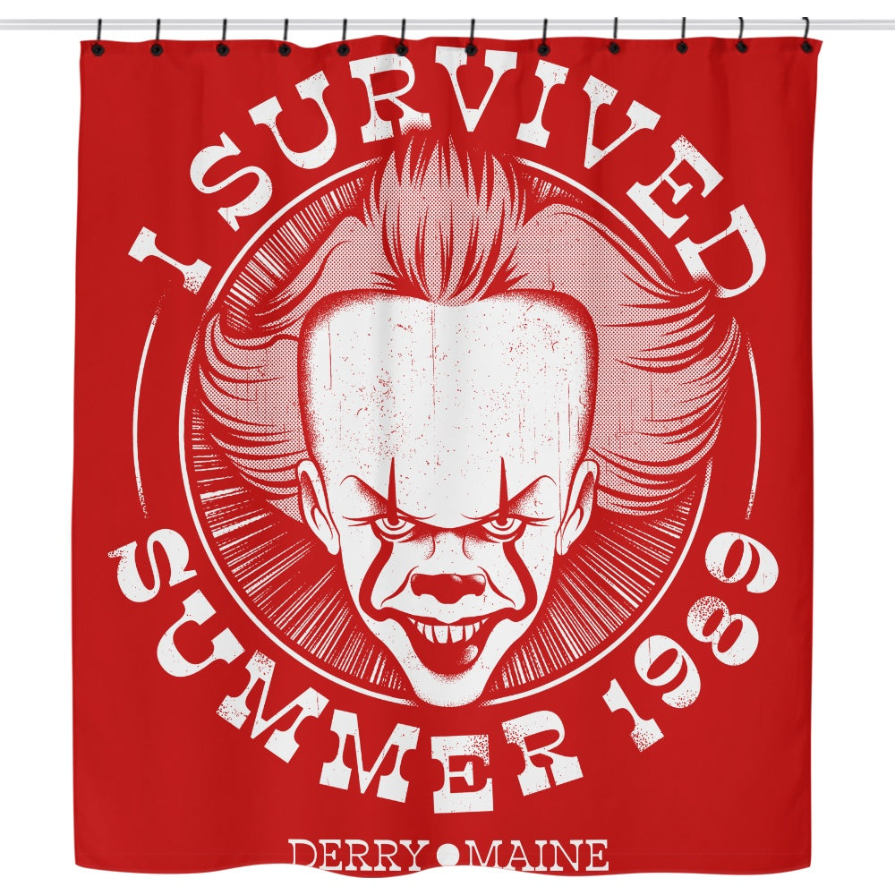 I Survived Derry - Shower Curtain