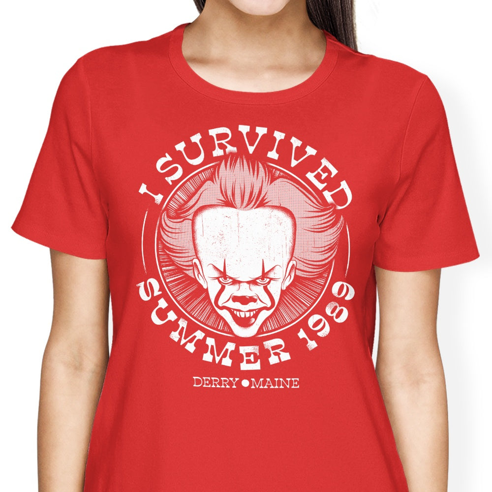 I Survived Derry - Women's Apparel
