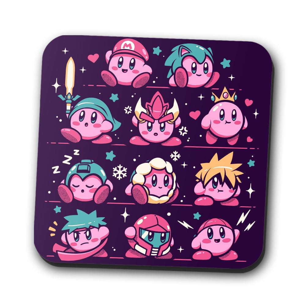 Pink Warriors - Coasters