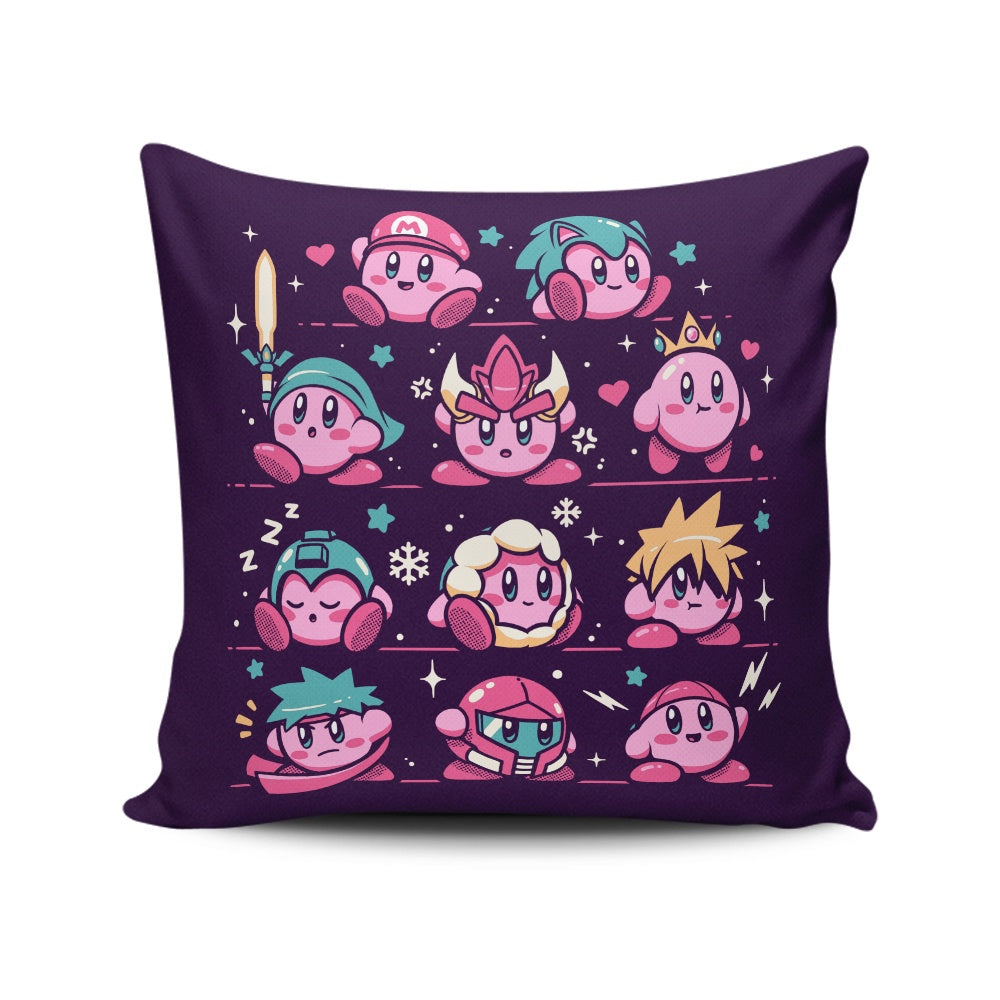 Pink Warriors - Throw Pillow
