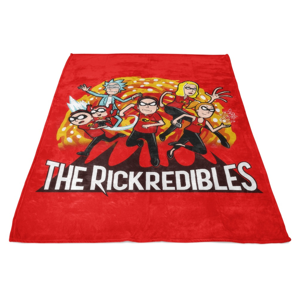 The Rickredibles - Fleece Blanket