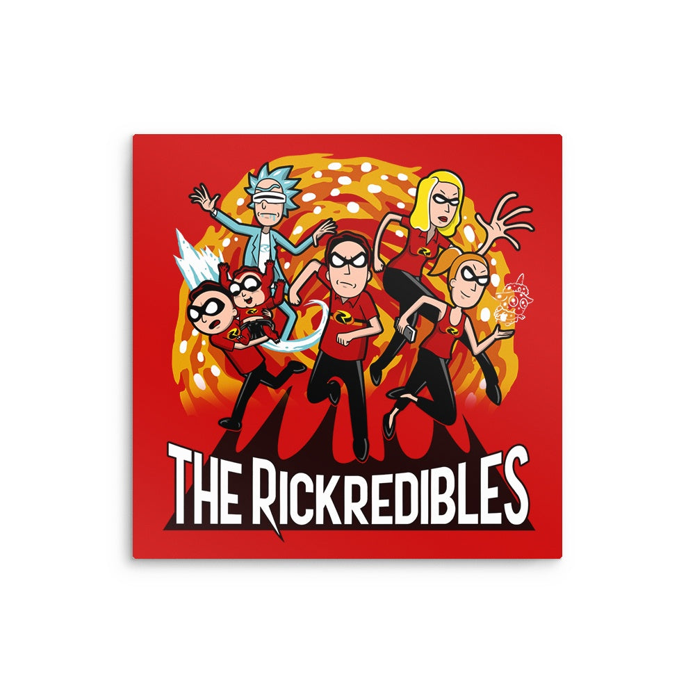 The Rickredibles - Metal Print