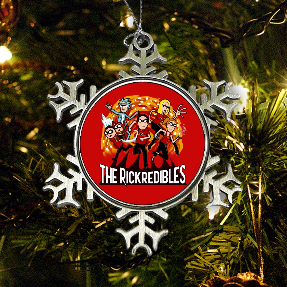 The Rickredibles - Ornament