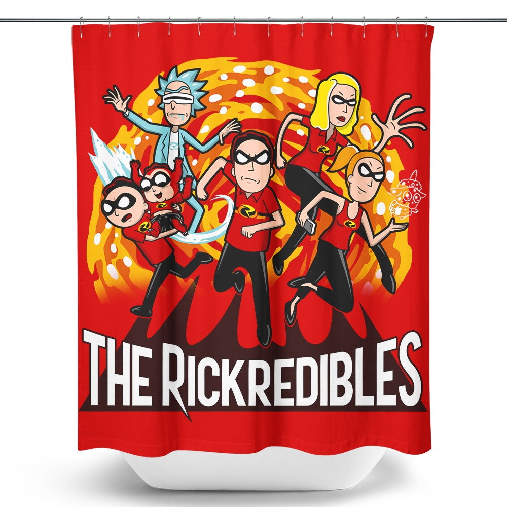 The Rickredibles - Shower Curtain
