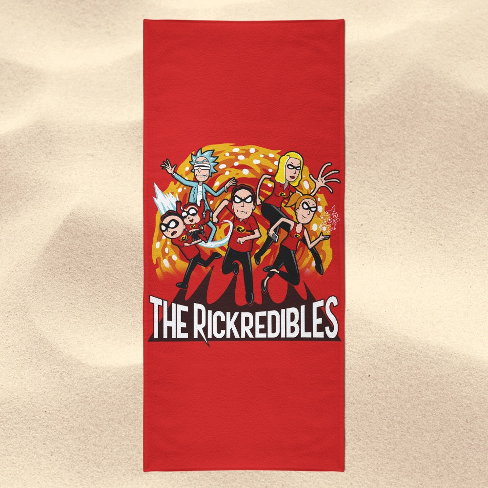 The Rickredibles - Towel