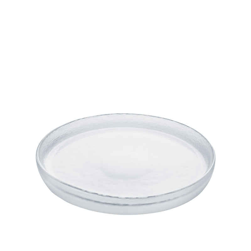 SOSARA – Plate Frosted Clear, 9.4inch