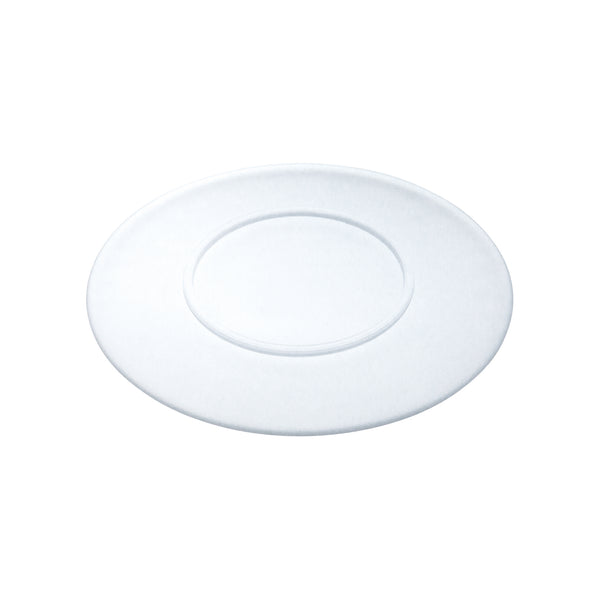 ANGE - 3DOME Plate Clear Frosted, 10.6 inch