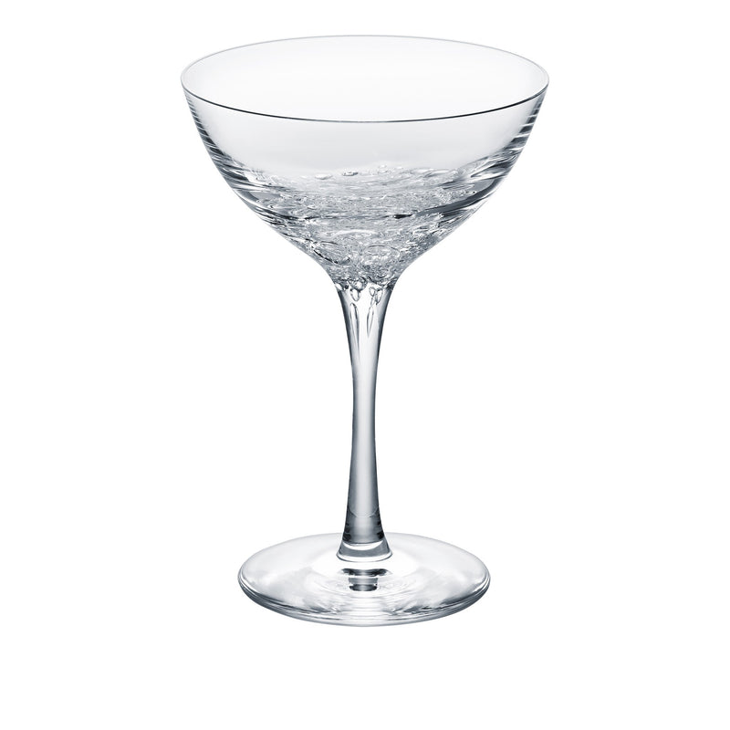 3 type of bubbles - Clear, Martini Glass 4.1oz