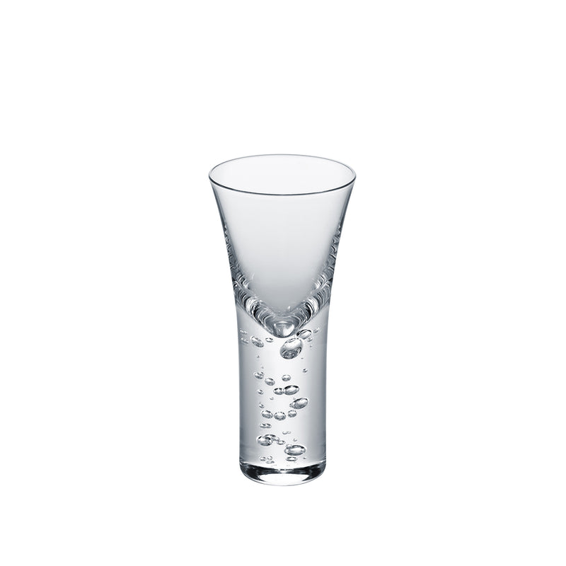 3 type of bubbles - Clear, Sake Glass 1.7oz