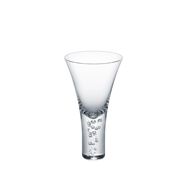 3 TYPE OF BUBBLES - Cocktail Glass Clear, 8.5oz